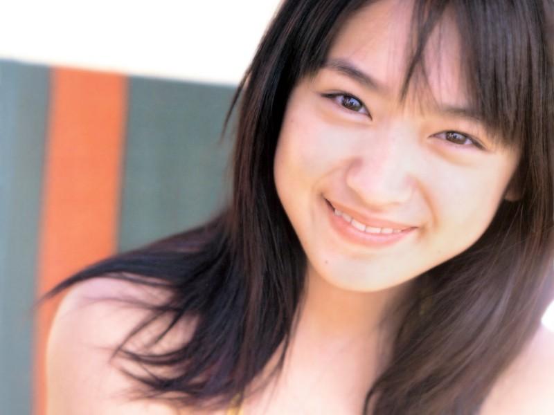 池脇千鶴の笑顔