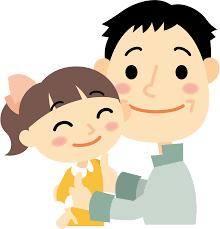 子供の高嶋彩と父