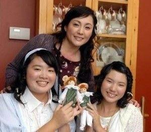 松坂慶子さんの娘さんたち