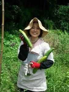 杉田かおるさん農業